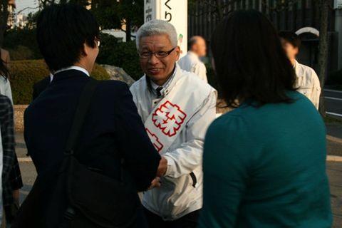 2011鳥取県議会議員選挙 街頭演説