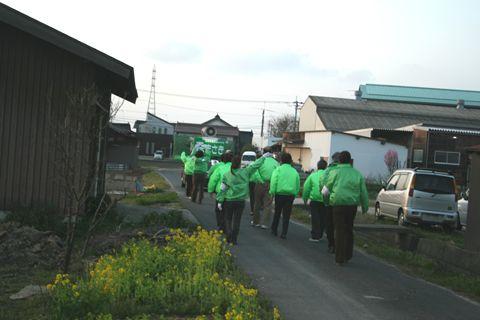 2011鳥取県議会議員選挙 最終日