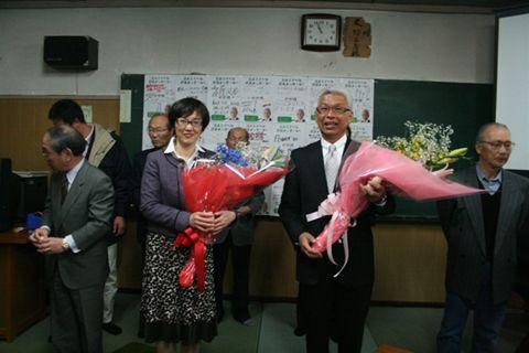 2011鳥取県議会議員選挙 報告会(投票日)